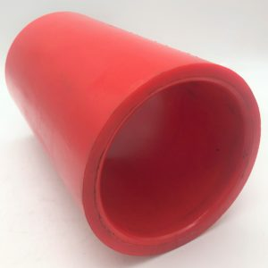Trunnion Bush Poly A90 Red to suit Haulmark Suspension