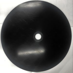 Round Secure Lube Pad (Recessed) with Speed Nut